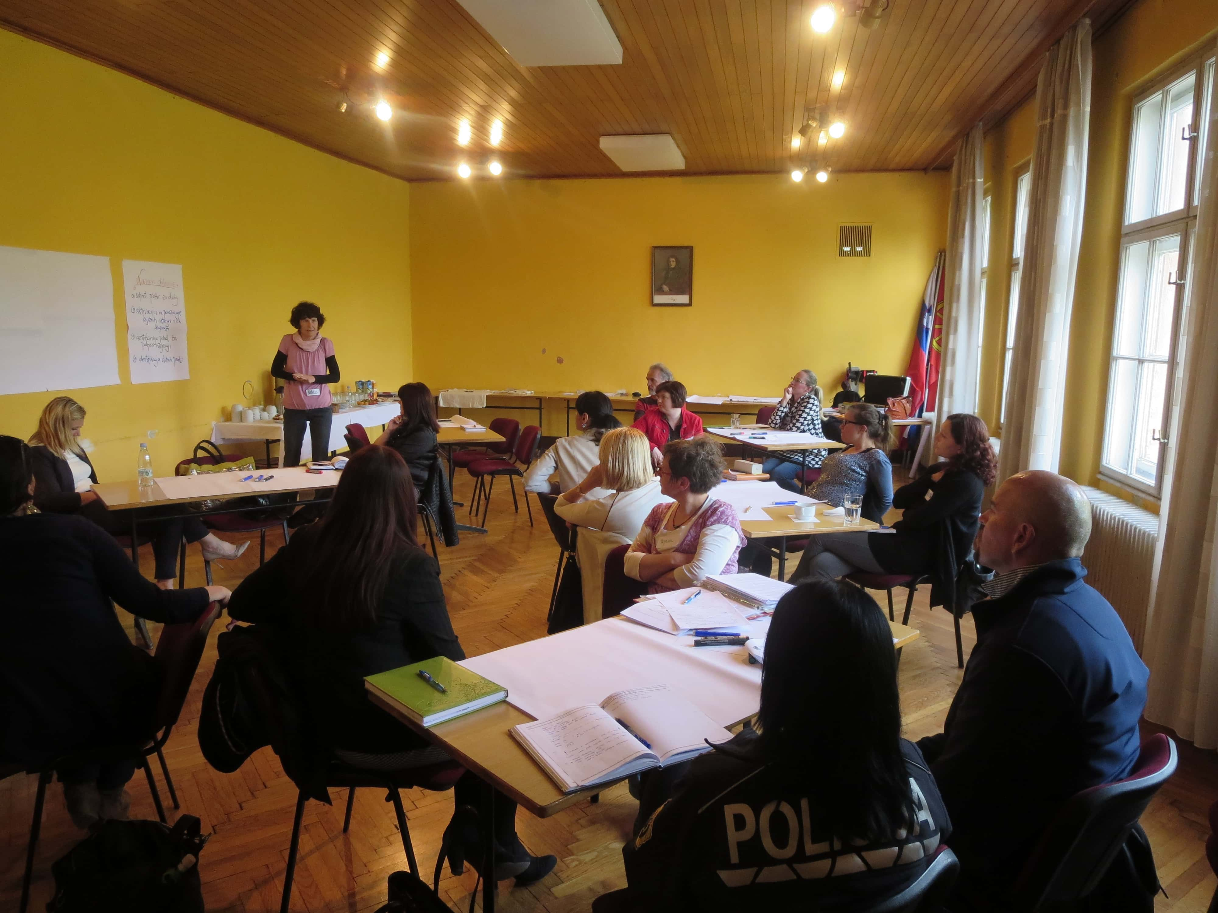 "Delavnica ""Aktivno za strpnost"" v Logatcu"