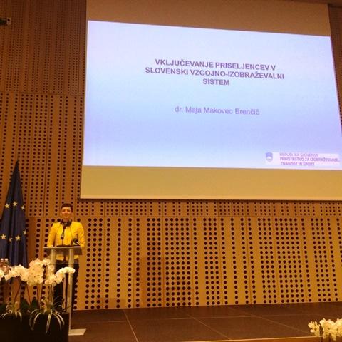 Vključenost priseljencev v vzgojno-izobraževalni sistem Republike Slovenije