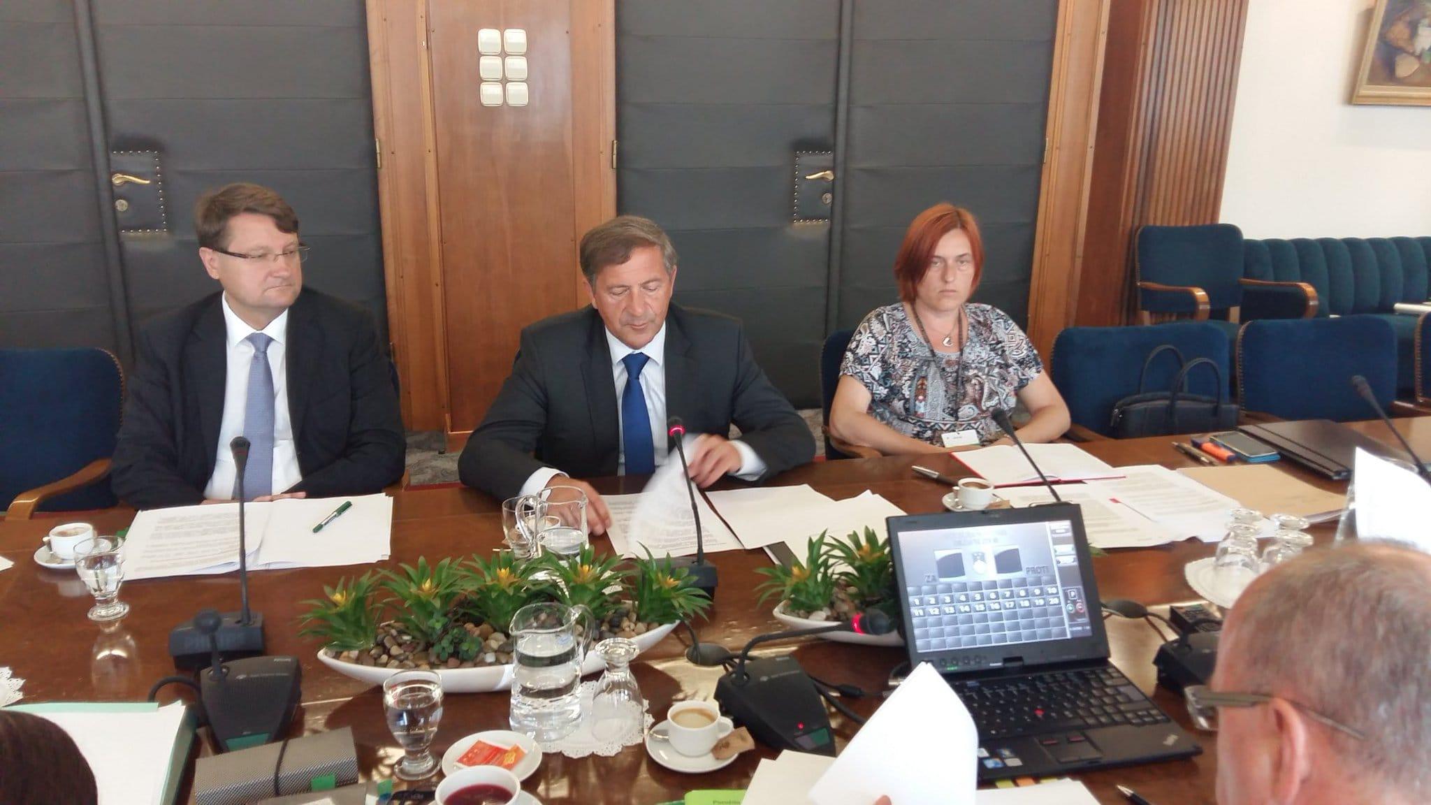 Minister Erjavec na Odboru za zunanjo politiko poudaril pomen razvojnega sodelovanja in humanitarne pomoči