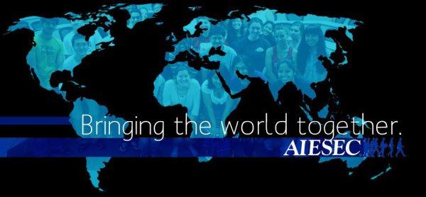 AIESEC – največja neprofitna prostovoljna organizacija na svetu za mlade, ki jo vodijo mladi