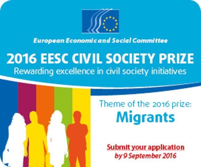 Nagrada EESO za civilno družbo letos na temo migrantov
