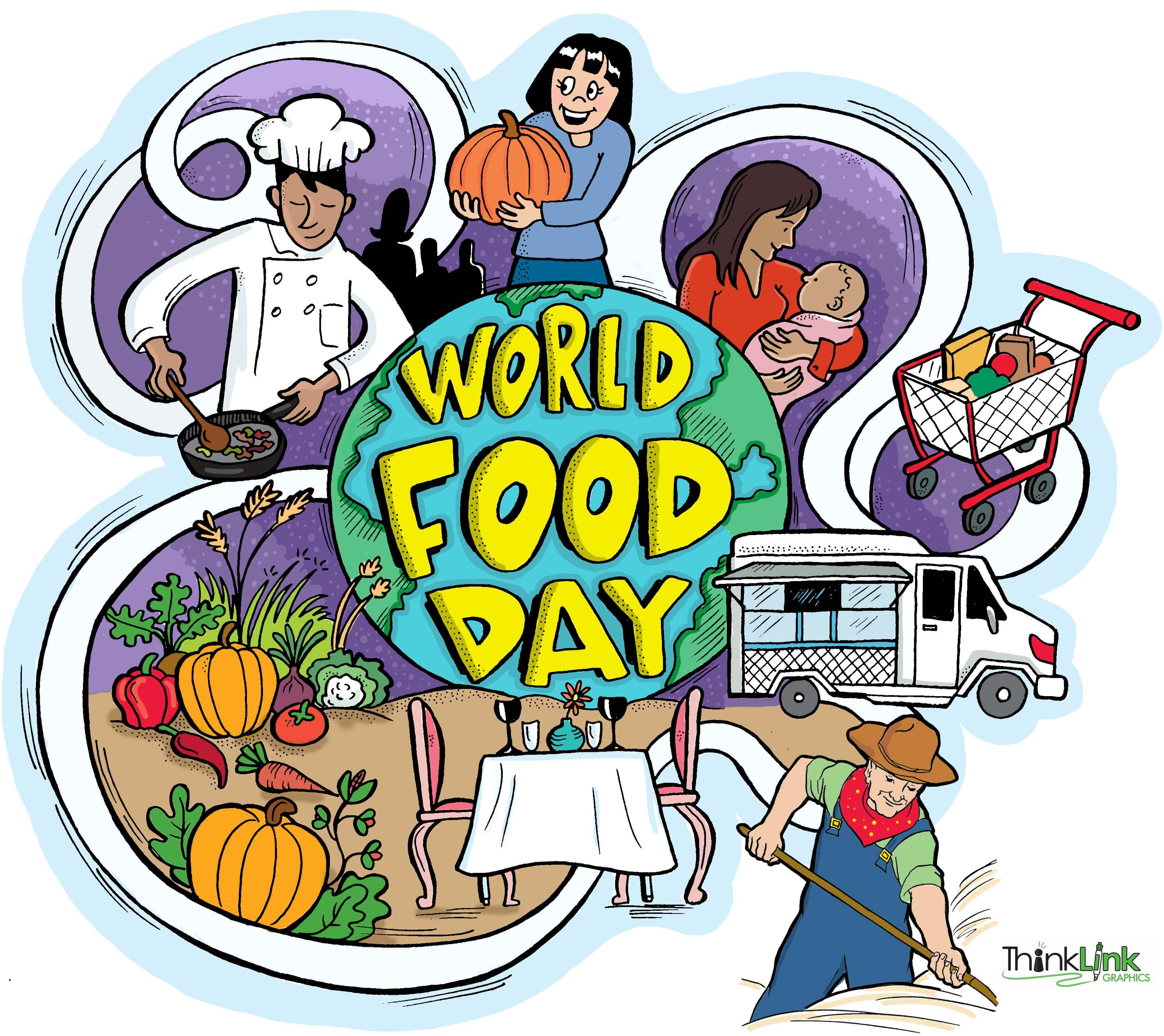 Ob svetovnem dnevu hrane: Skupaj za izkoreninjenje lakote