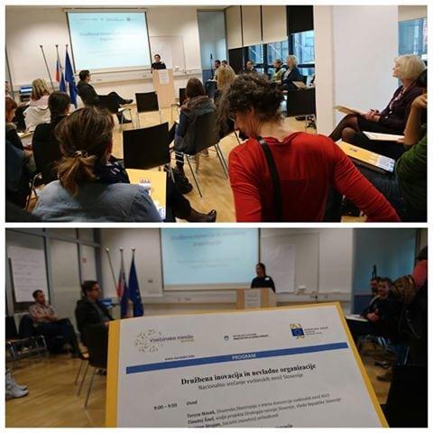 SLOGA na Nacionalnem srečanju vsebinskih mrež Slovenije