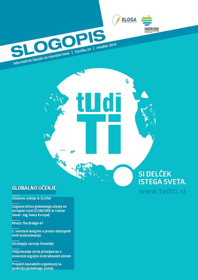 V sklopu projekta Z globalnim učenjem do globalnih ciljev! izdan Slogopis na temo globalnega učenja
