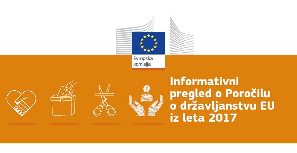 Objavljeno tretje EU poročilo o državljanstvu