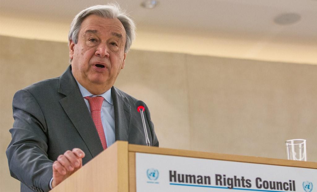 Generalni sekretar OZN na Svetu za človekove pravice: Kršitve človekovih pravic kot »bolezen«