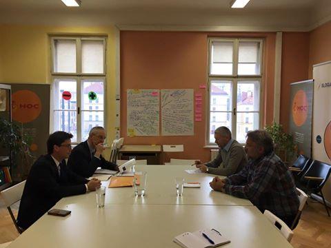 SLOGA z direktorjem UNIS na Dunaju o sinergijah pri ozaveščanju o trajnostnem razvoju