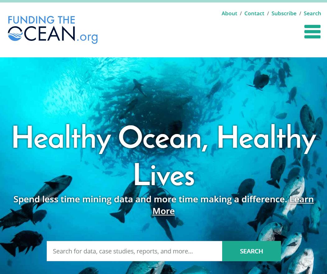 Nova spletna stran namenjena ohranjanju oceanov