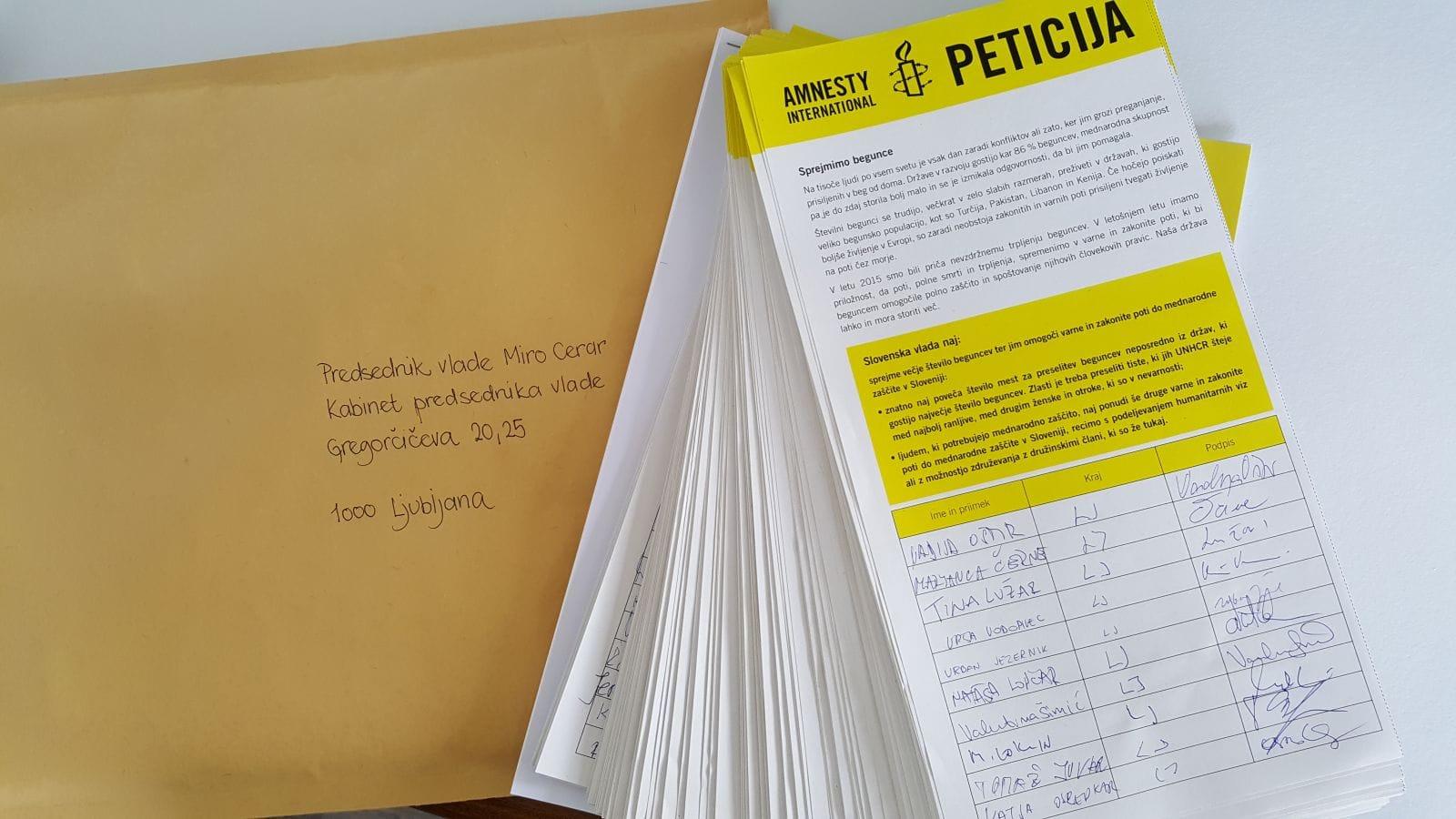 Slovenija naj pravično sodeluje pri zaščiti beguncev