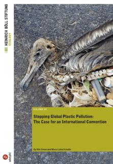 Zakaj potrebujemo globalno pogodbo o plastiki?
