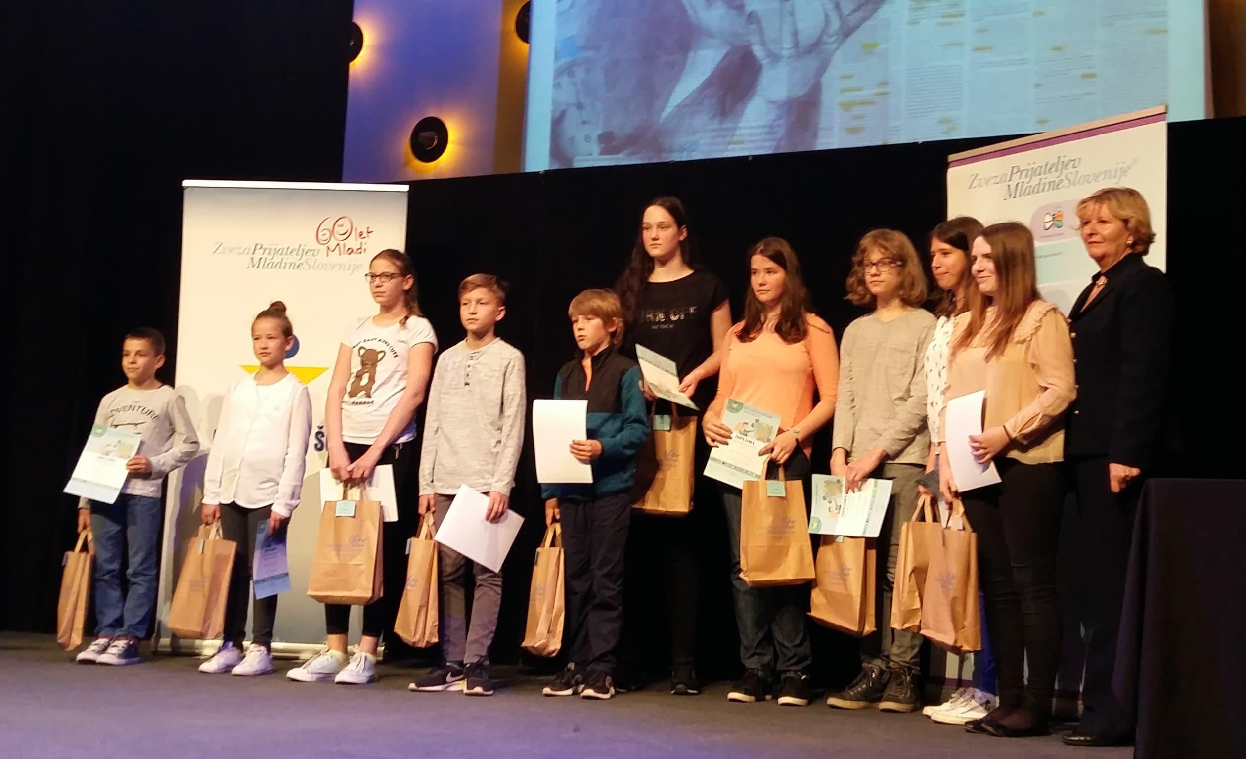 Več kot 500 otrok na prireditvi Evropa v šoli