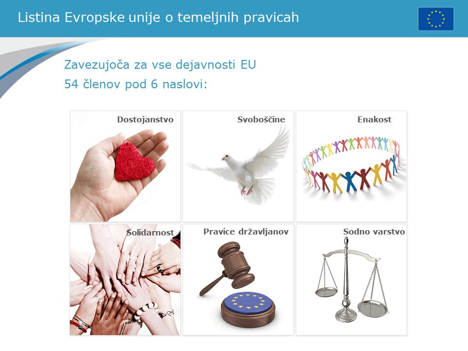 Poročilo o izvajanju Listine o temeljnih pravicah v EU leta 2017