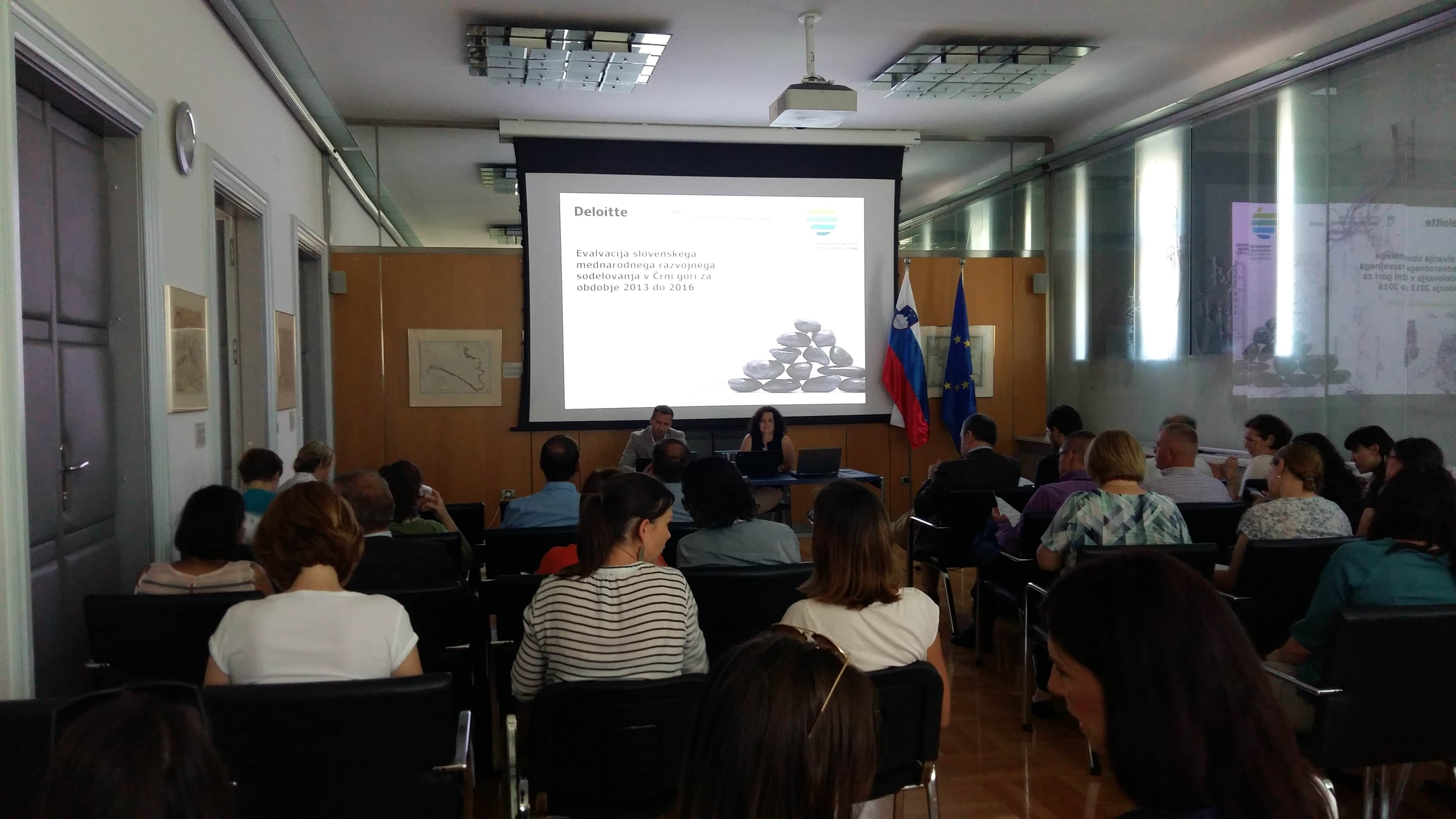 Z evalvacijo korak k izboljšanju učinkovitosti slovenskega razvojnega sodelovanja