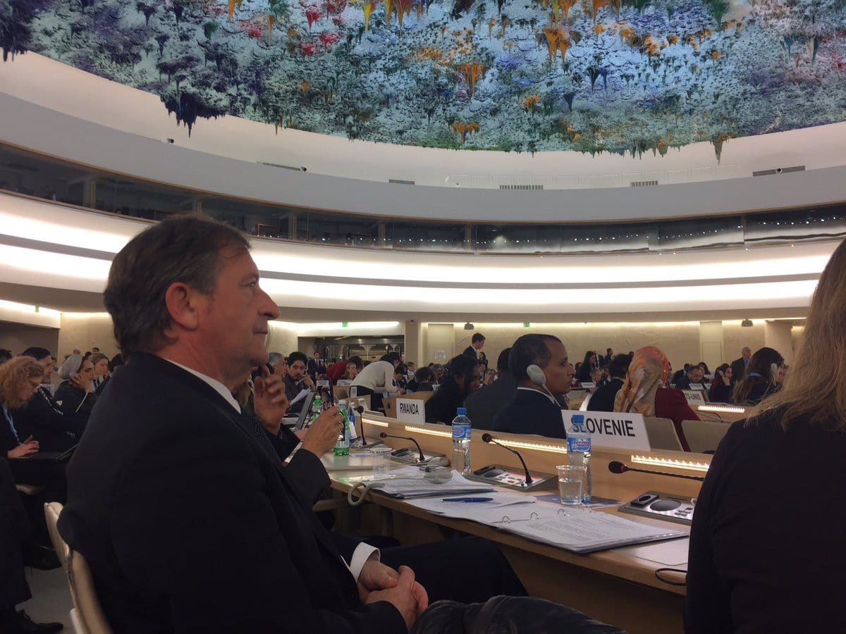 Slovenija aktivna na 35. zasedanju Sveta OZN za človekove pravice