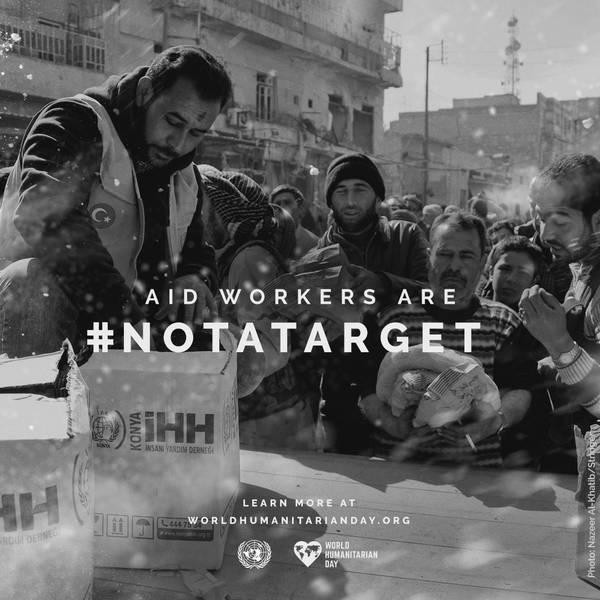 Svetovni dan humanitarnosti: Civilisti naj ne bodo tarče