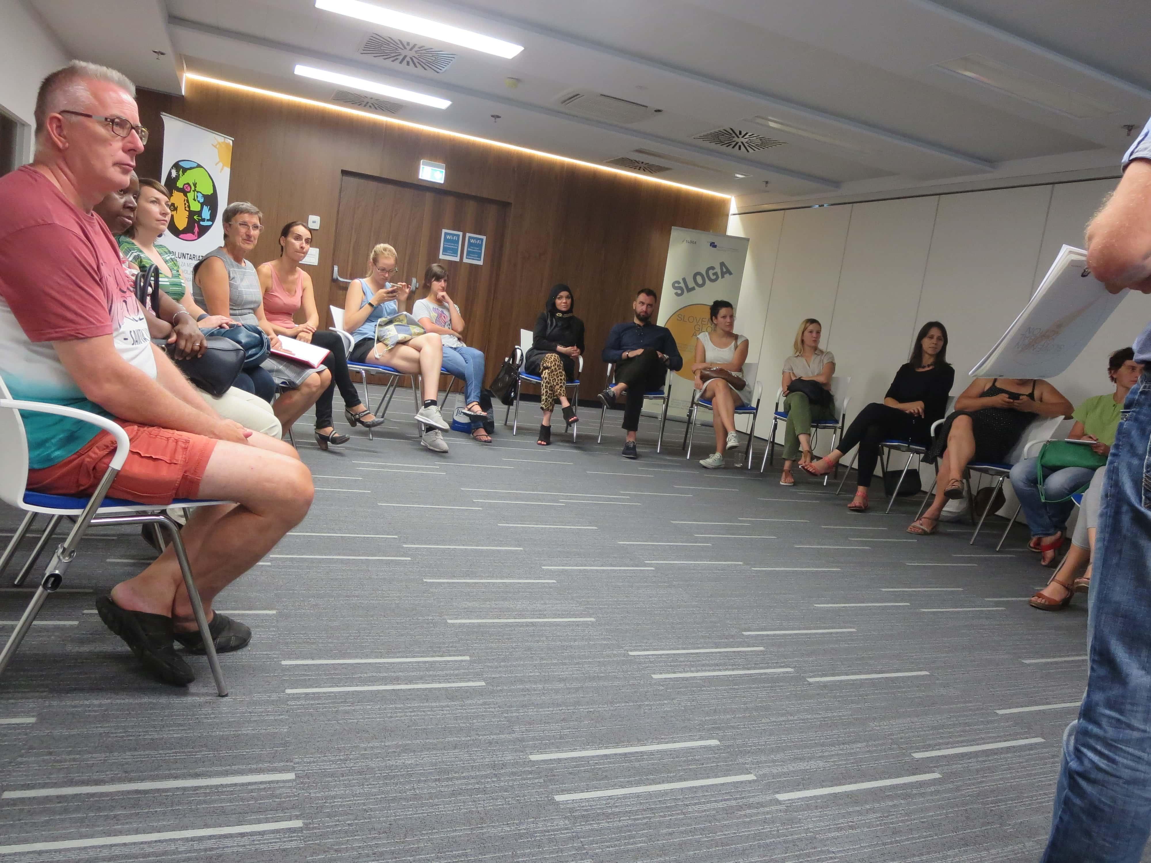 Predstavitev izkušenj z izvajanjem projektov v okviru programa EU Aid Volunteers