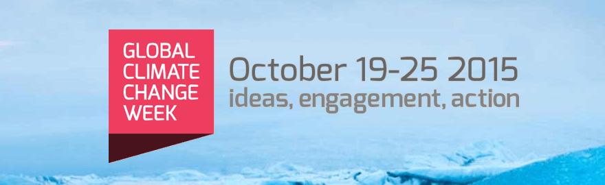 Možnost sodelovanja na Global Climate Change Week 2017
