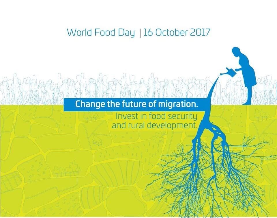 Ob svetovnem dnevu hrane podpora trajnostnemu razvoju podeželja in prilagajanju na podnebne spremembe