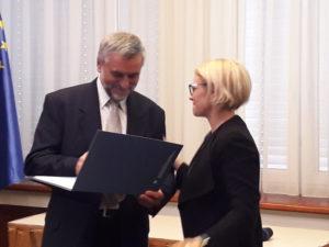 Imre Jerebic prejel nagrado za življenjsko delo na področju socialnega varstva