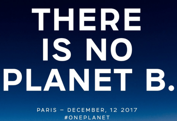 "Podnebna konferenca: ""Nimamo planeta B!"""