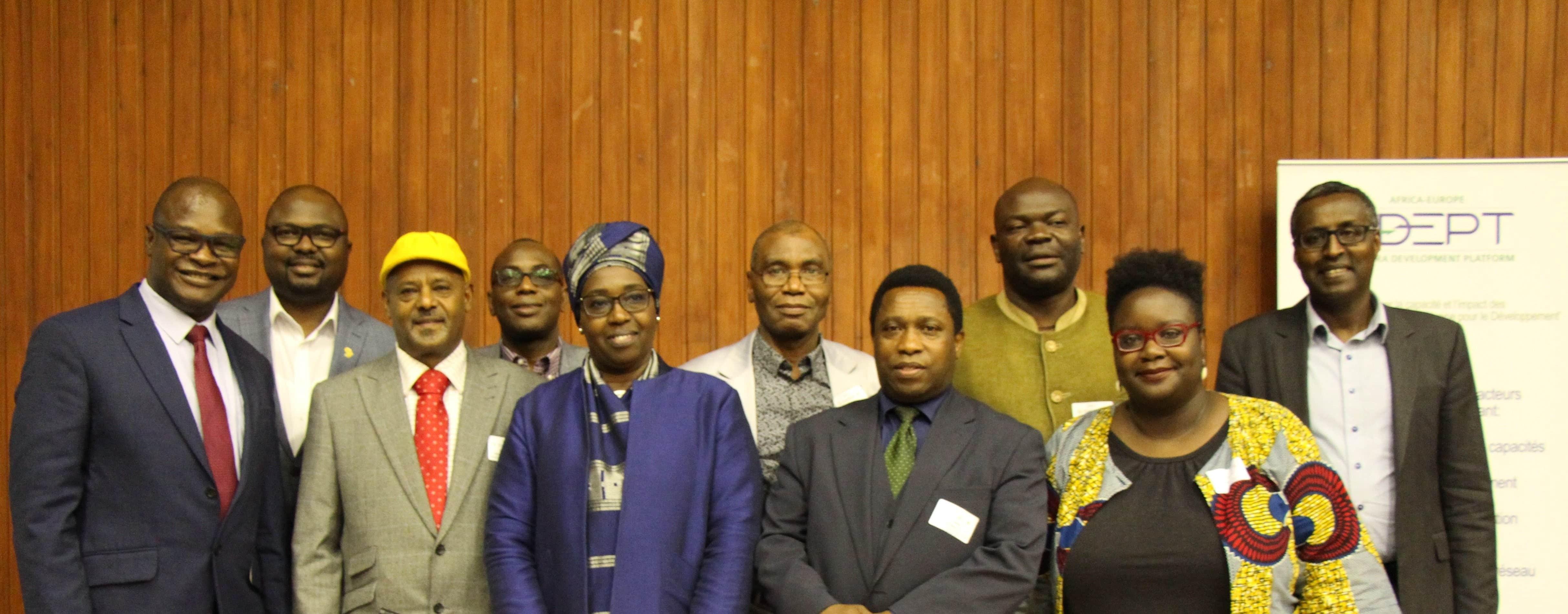 Eyachew Tefera v Svetu platforme diaspornih razvojnih organizacij ADEPT