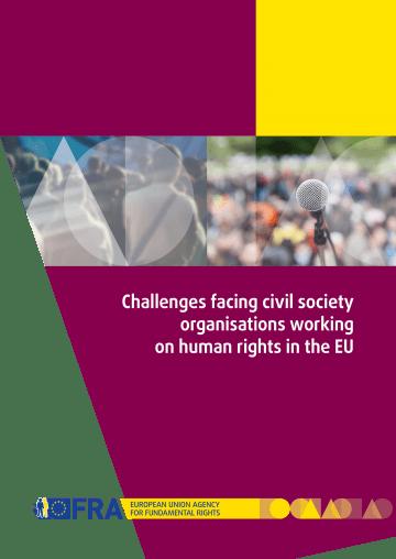 Civilna družba v Evropi je ogrožena, ugotavlja poročilo Agencije za temeljne pravice