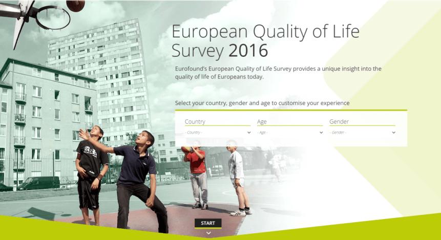 Eurofound objavil evropsko raziskavo kakovosti življenja 2016