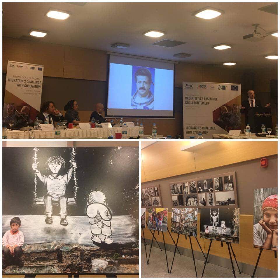 O izzivih migracij na konferenci projekta LADDER v Istanbulu