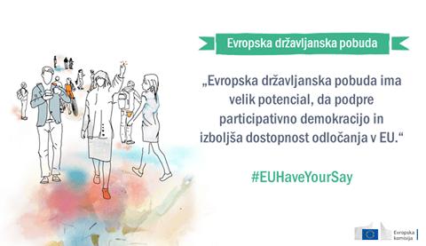 """Evropska državljanska pobuda """"Evropa je gostoljubna, pomagajmo!"""" registrirana"""