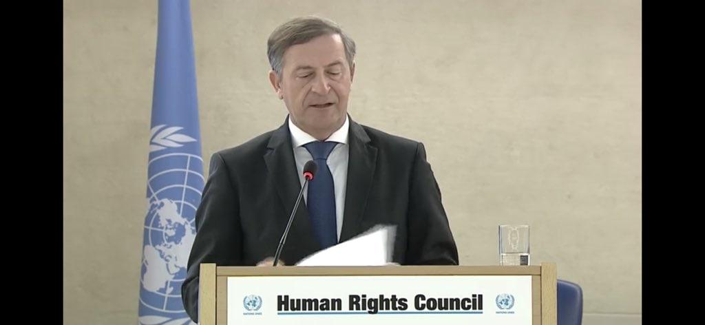 Aktivnosti Slovenije na 37. zasedanju Sveta OZN za človekove pravice