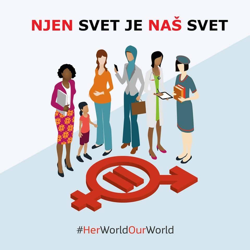 Sodelujte v ozaveščevalni akciji o enakosti spolov!