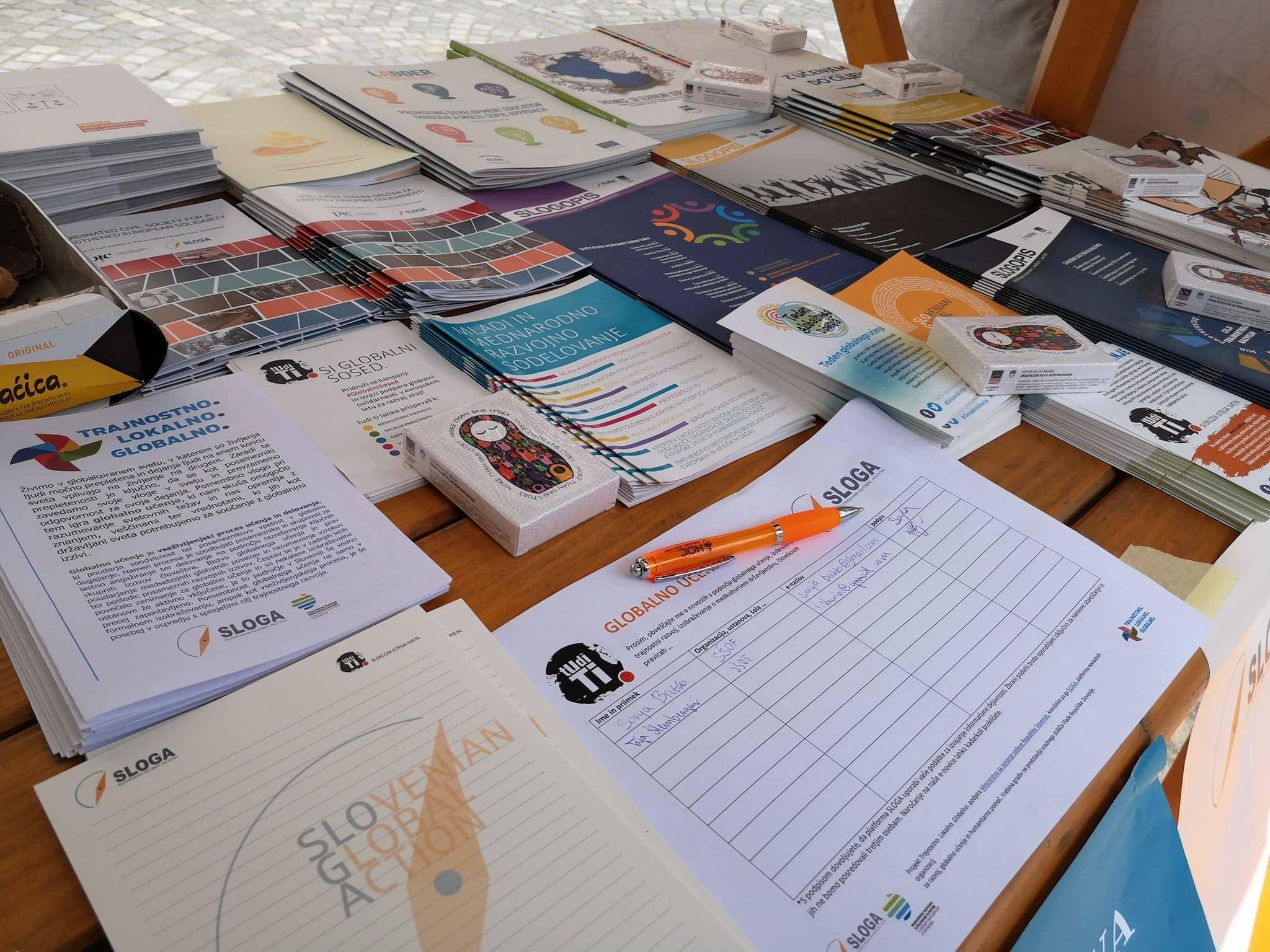 SLOGA ponovno del Veselega dne prostovoljstva
