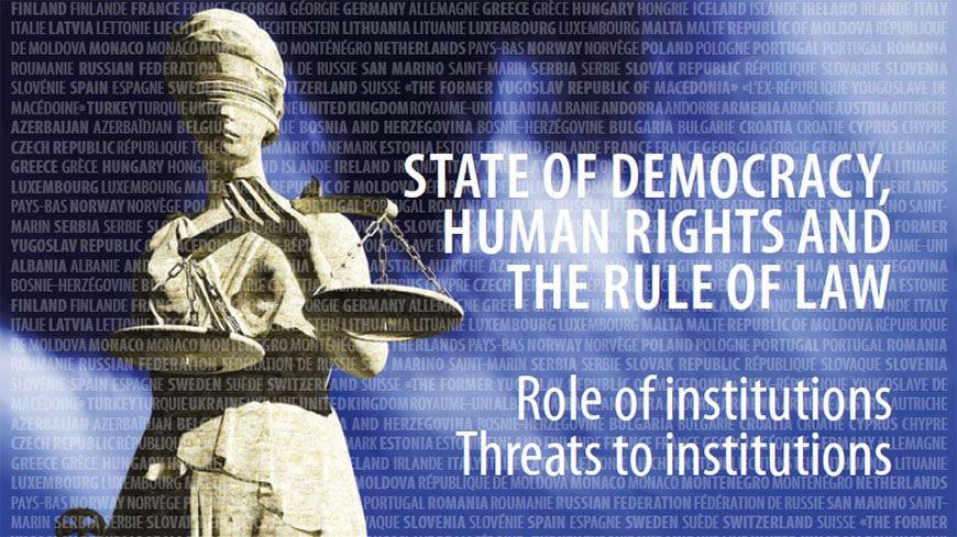 Objavljeno letno poročilo generalnega sekretarja Sveta Evrope o stanju demokracije, človekovih pravic in vladavine prava v Evropi
