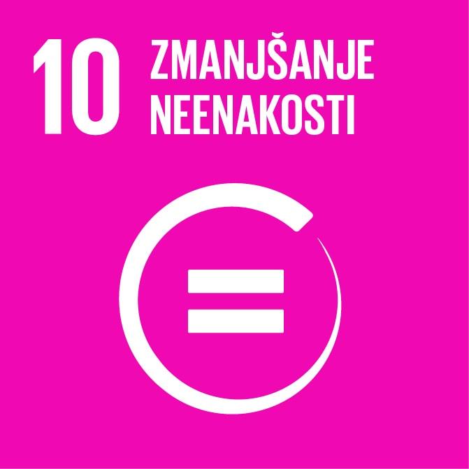 Poročilo o uresničevanju Agende 2030 s posebnim poudarkom na 10. cilju trajnostnega razvoja za zmanjšanje neenakosti v Sloveniji