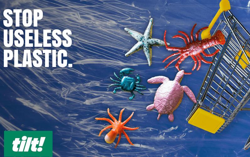 Stop plastičnemu onesnaževanju: Zahtevajte, da trgovske verige zmanjšajo uporabo nepotrebne plastike!