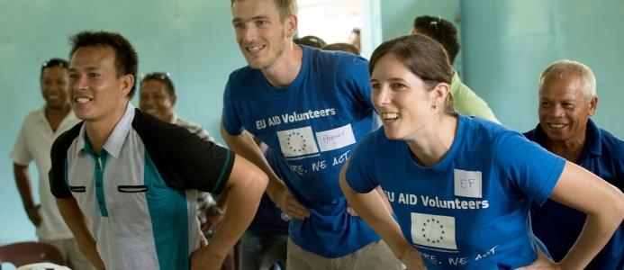 Usposabljanje o priložnostih za NVO v okviru programa Prostovoljci EU za humanitarno pomoč