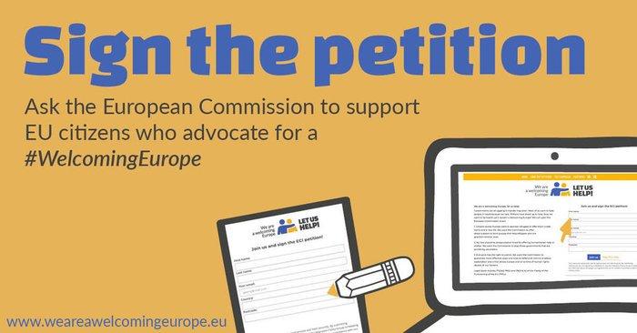 Peticija #WelcomingEurope