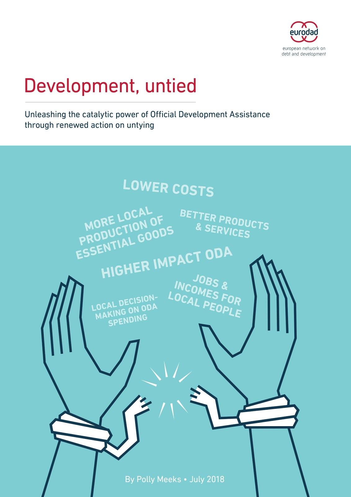 Novo poročilo Eurodada o obsegu vezane pomoči v bilateralni uradni razvojni pomoči
