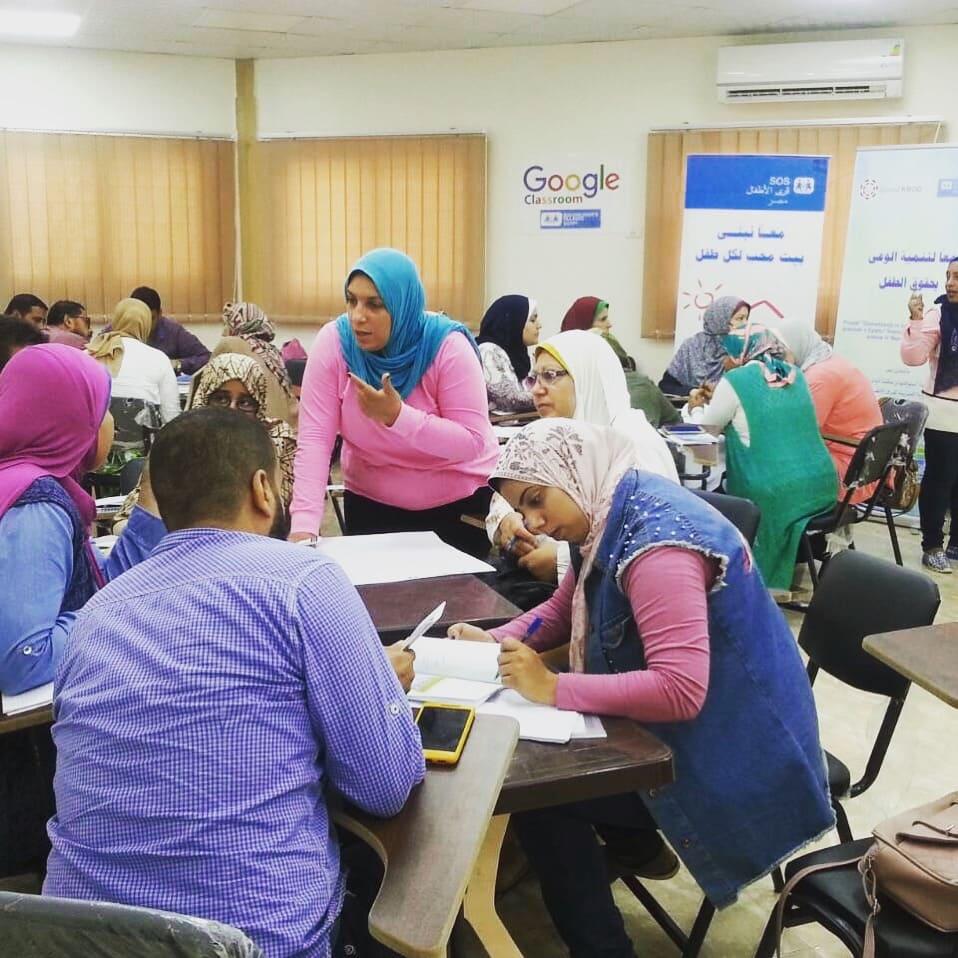 Zavod KROG nadaljuje delo v Egiptu