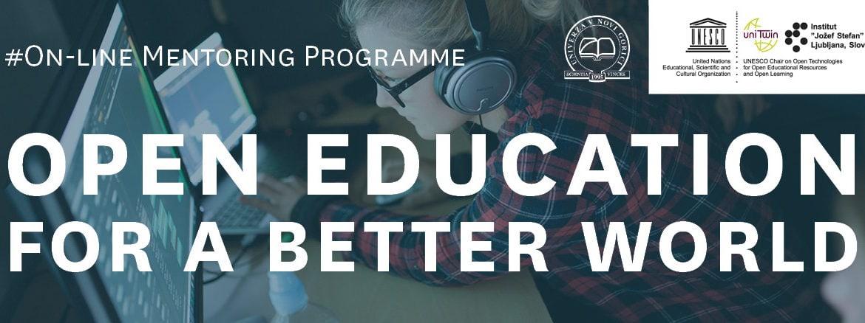 """razpis programa """"Odprto izobraževanje za boljši svet"""""""