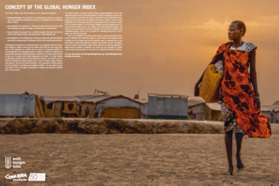 Global Hunger Index 2018  se osredotoča na migracije in lakoto