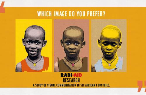 Raziskava Radi-Aid o vizualnih komunikacijah v šestih afriških državah