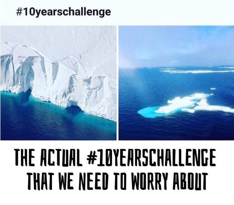 Aktivizem v najnovejšem spletnem izzivu: #10YearChallenge