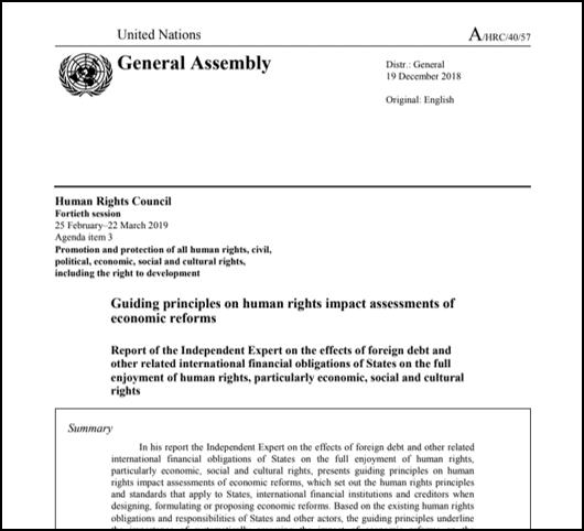 Strokovnjak ZN objavil nove smernice o gospodarskih reformah in človekovih pravicah