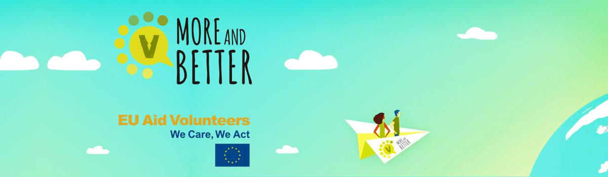 Vabilo: zaključno usposabljanje projekta More and Better EU Aid Volunteers