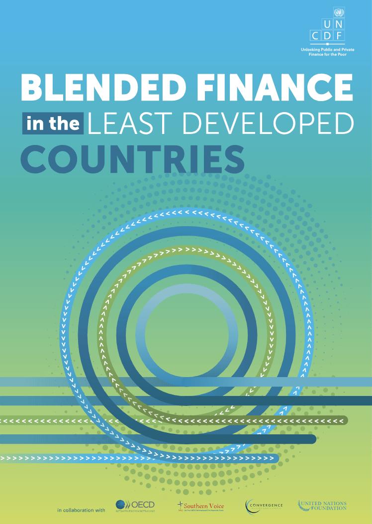 Poročilo o kombiniranih načinih financiranja v najmanj razvitih državah