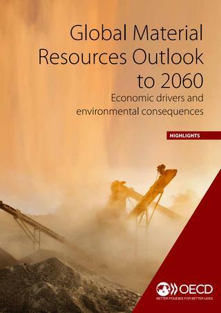 OECD: Globalni obeti glede materialnih virov do leta 2060 – gospodarska gonila in okoljske posledice