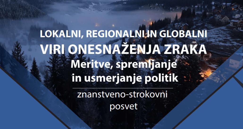 Ukrepajmo proti onesnaženemu zraku v Sloveniji!