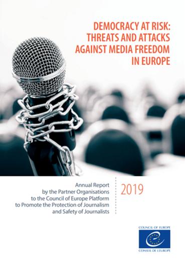 Platforma za zaščito novinarjev objavila poročilo o medijski svobodi v Evropi