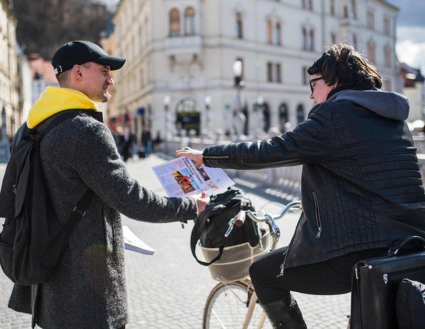 Deljenje Najboljših novic iz sveta Ljubljana